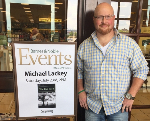 Author of the month for Barnes and Noble